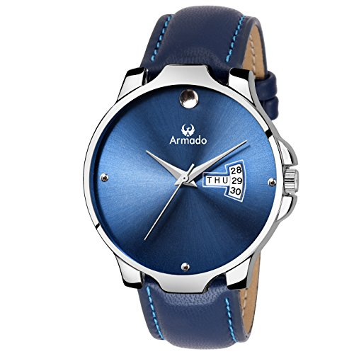 ARMADO AR-049-BLU DAY AND DATE WATCH-FOR MEN