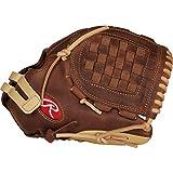"""Rawlings Corazón de la Oculta 12"""" Fastpitch Softball Guante: PRO120SB-3SL, Lanzador diestro, 30,48 cm, marrón, marrón claro, (Brown/Camel)"""