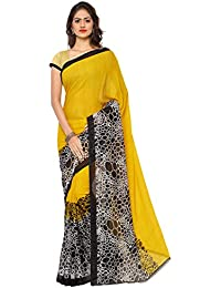 Monsoon Collection Of Faux Georgette Saree By Anand Sarees