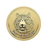 "1 oz Goldmünze Australien 2010 Lunar Serie II ""Year of the Tiger"" - 1 Unze 999,9 Gold"
