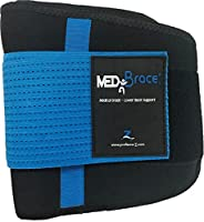 Back Support Brace, Lower Lumbar Belt MEDiBrace II (Medical Grade) Pain & Discomfort Relief from Sciatica, Backache, Slipped Disc, Hernia, Spinal Stenosis, Spine Injury Prevention   Posture Corset