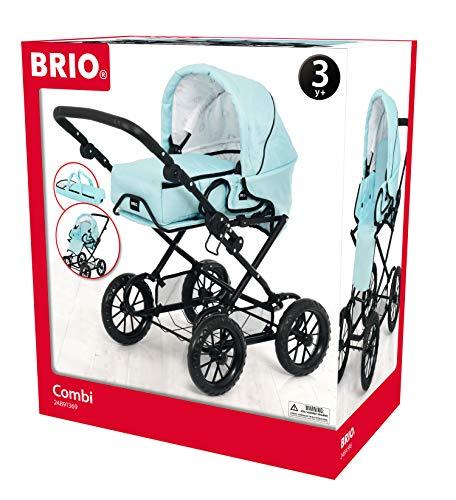 Brio 24891369 63891369 Combi - Carrito para muñecos, Color Turquesa