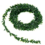 YeBetter 7.5M Artificielle Ivy Guirlande Feuillage Vert Feuilles Simulées De Vigne pour La Cérémonie De Mariage DIY Bandeaux