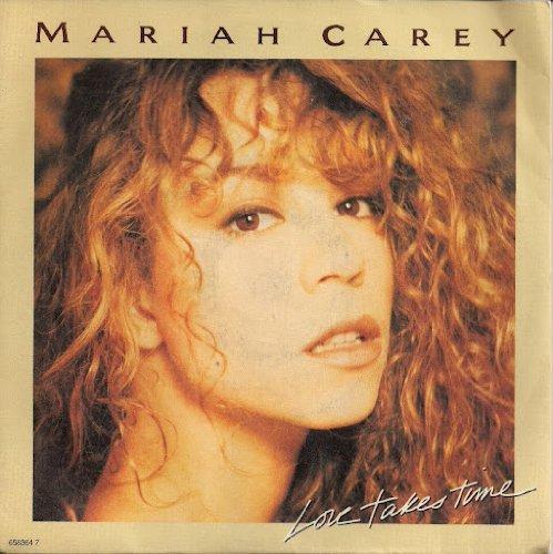 Mariah Carey Love Takes Time UK 45 7