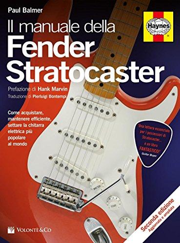 Il manuale delle Fender Stratocaster