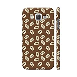 Colorpur Samsung J2 (Old) Cover - Coffee Beans Printed Back Case