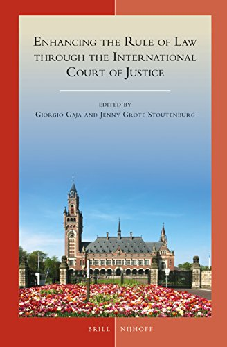 Enhancing the Rule of Law through the International Court of Justice (Developments in International Law)