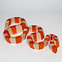 Ball course bevel crate 36 cm x 25 cm x 8 cm rolling course marble course wooden toy Erzgebirge