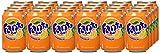 Fanta Naranja Lata de 0.33 cl, 24 unidades (0.33x24)