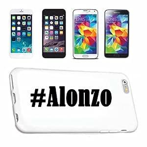 Coque iPhone 6 hashtag ... #alonzo ... social au design network hard cover case housse de protection smart cover étui de protection pour apple iPhone blanc ... ... mince et élégant, c'est notre hardCase. la coque est un clic pour fixer sur votre smartphone
