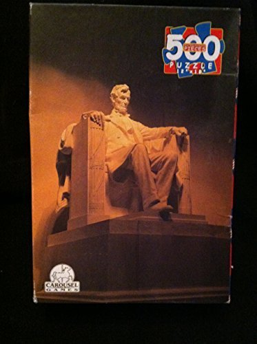 Abraham Lincoln (Lincoln Memorial) 500 Piece Jigsaw Puzzle by Carousel Games