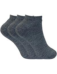 Sock Snob 3 pares mujer invierno termicos sneaker cortos calcetines