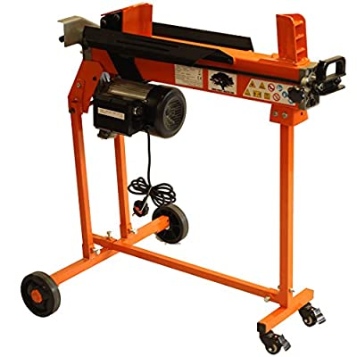 Forest Master heavy duty Electric Log Splitter 6 ton 3hp motor hydraulic wood cutter stand and duoblade