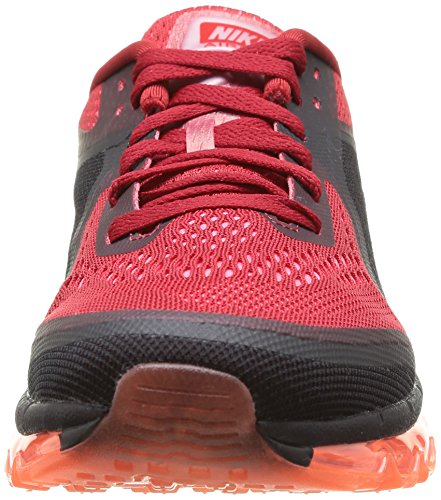 Nike Air Max 2014, Chaussures de running homme Multicolore (Gym Red/Rflct Slver)