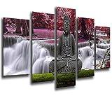 Cuadro Fotográfico Buda Buddha, Relajacion, Relax, Zen Tamaño total: 165 x 62 cm...