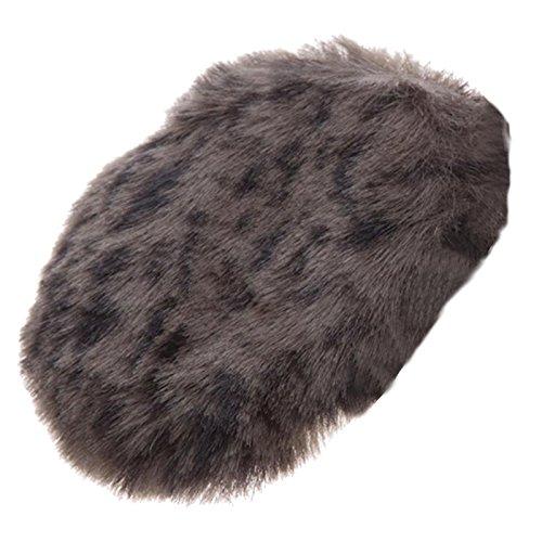 Earbags FASHION Ohrwärmer Mütze war gestern Fashion Ohrenschützer, Farbe Kunstfell Wolf, Größe (Mütze Kinder Für Wolf)