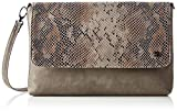 TOM TAILOR Denim Damen Mila VIP Clutch, (Braun), 3x18x28 cm