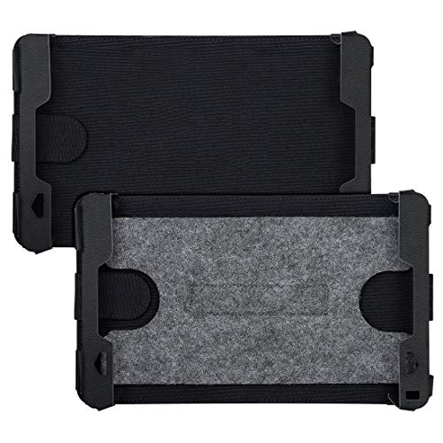 NAVISKAUTO 10-10,5 Zoll Auto KFZ Kopfstützenhalterung Kopfstütze Halterung für Tragbarer DVD Player Spieler Kopfstützenmonitor PA2008B geeignet für Modell CH1014B und 10002B, 2 Stücke - Dvd-player 6-disc