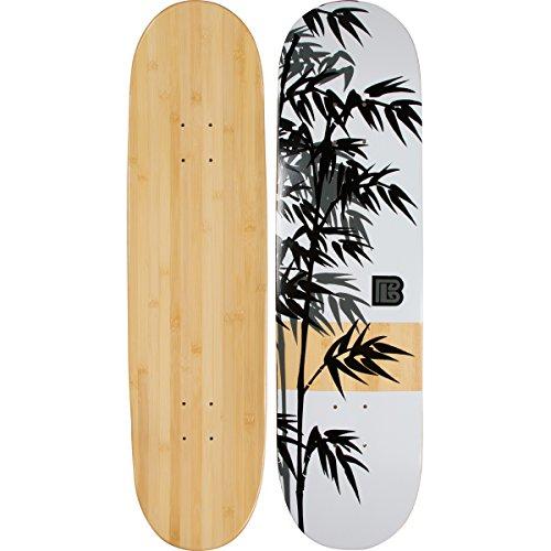 Bambus Skateboards Graphic Skateboard-Deck - mehr Pop, Leichter und stärker, hält länger als die meisten Decks, 8.25