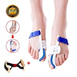 Best Bunion Correctors - Bunion Corrector, Hallux Valgus Bunion Protector with Adjustable Review