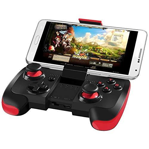 DMMW ASDQ Tragbarer kabelloser Game-Controller, Bluetooth Joystick 2.1, für Smartphones/PC/Tablet