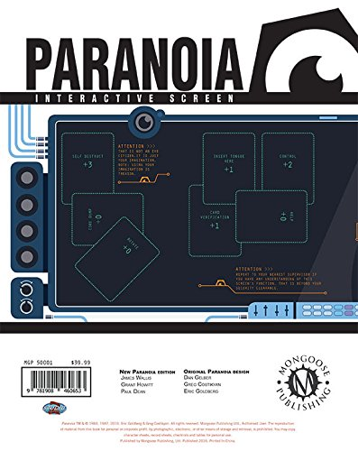 Paranoia: Interactive screen (MGP50001)