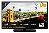 Hitachi Tv 32' Led Hd/ 32He1000/ 2 Hdmi/ 1 USB/Modo Hotel/A+/ 200 Bpi/ Tdt2/ Satelite