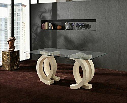 Stones+-+Tavolo+Olimpia+FS/023/WA+White+Agata+-+Misure:+cm+200x100x76+h