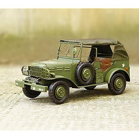 Lx.AZ.Kx Il Modello ricostruito 2 Jeep Modello di guerra arte