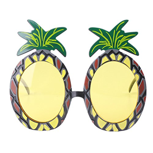 Kalttoy Hawaii Ananas Beach Party Brille Sonnenbrille Fancy Kleid Weihnachten Decor Geschenk