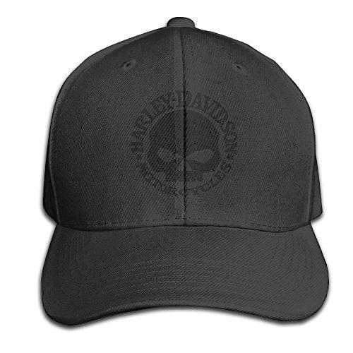 hittings-trave-leatherman-harley-davidson-logo-skull-unisex-peaked-gorra-de-bisbol-gorra-hats-black