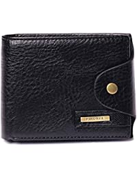 631fc77404 Portafoglio Uomo Vera Pelle Blocco RFID con fermasoldi, Portafogli con  tessere tascabile documenti, porta carte di…