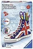 Ravensburger Puzzle 11222 11222-Sneaker: Union Jack-3D Puzzle