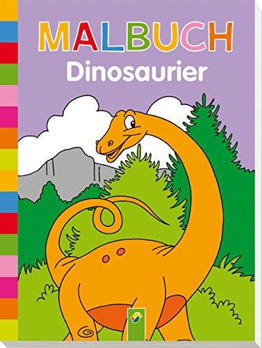 Malbuch Dinosaurier (Dinosaurier-malbuch)