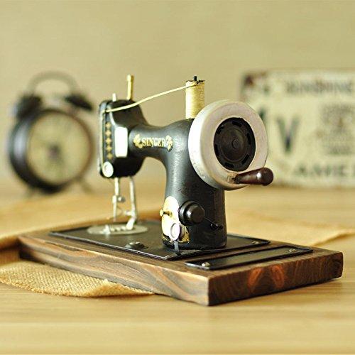 Modèle De Machine à Coudre Ornements Rétro Vintage Art De Fer De Simulation Décorations Anciennes Artisanat D'accessoires De Photographie
