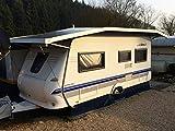 Schall Camping Wohnwagen Schutzdach | Maßanfertigung inkl. Montage | Hochwertig | für Hohe Schneelasten ausgelegt (625-674 cm)