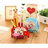 Party Propz Pen Stand with Photo Frame for Kids Attractive Designer top Selling Trending Product Return Gift Birthday Gifts Online (Set of 5)