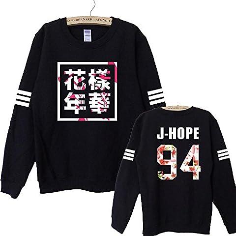 KPOP Bangtan Boys Unisex Hoodie/ Sweatershirt (J-HOPE, M)