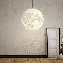 Schön ... Moon Pendelleuchten Industrielle Deco Lampe Beleuchtung Leuchte  Höhenverstellbar Für Lounge Restaurants Keller Bars Flure Kinderzimmer  Balkon Dachstube ...