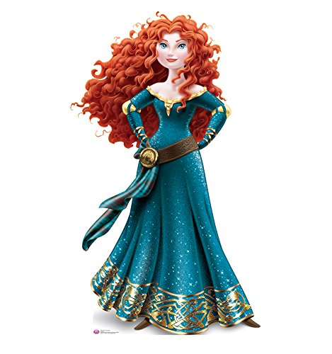 princess-merida-v301-wall-sticker-decal-self-adhesive-poster-wall-art-size-1000mm-high-x-600mm-wide-