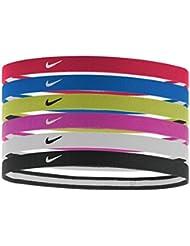Nike Swoosh fascia, Unisex, Swoosh, university red/Game royal/Volt, Taglia unica (uomo)