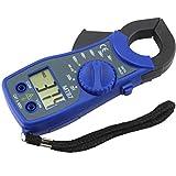UEETEK MT87 Digital Multimeter Amper Clamp Meter Stromzange Pinzette AC / DC Stromspannung Tester Azul
