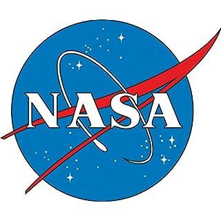 Etaia 8x10 cm - Auto Aufkleber NASA Emblem USA Raumfahrt Sticker Motorrad Bike Handy