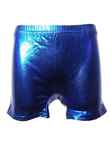 Other Mädchen Short Gr. 11-12 Jahre, Blau - Metallic Blue