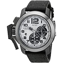 Graham Men's 2CCAU.S01A Chronofighter Analog Display Swiss Automatic Black Watch