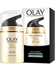Olay Total Effects Anti-Ageing 7-in-1 Cream Fragrance Free Moisturiser, 50 ml