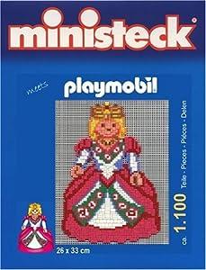 Playmobil 32713 - Ministeck Cuentos de Hadas Castillo de la Reina Cerca de 1.100 Piezas