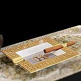 CDFD Aschenbecher handgefertigt rechteckige Porzellan Zigarre Aschenbecher Rauchzubehör