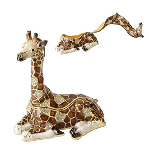 Sitting Giraffe Treasured Trinkets Keepsake Box Juliana 15263 by Juliana