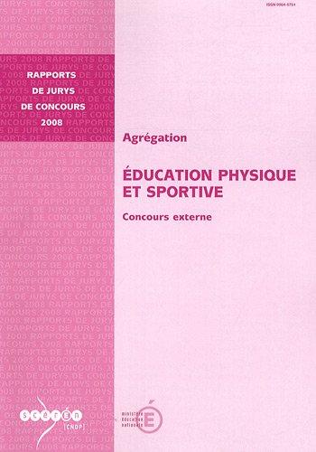 Agrégation Education physique et sportive : Concours externe